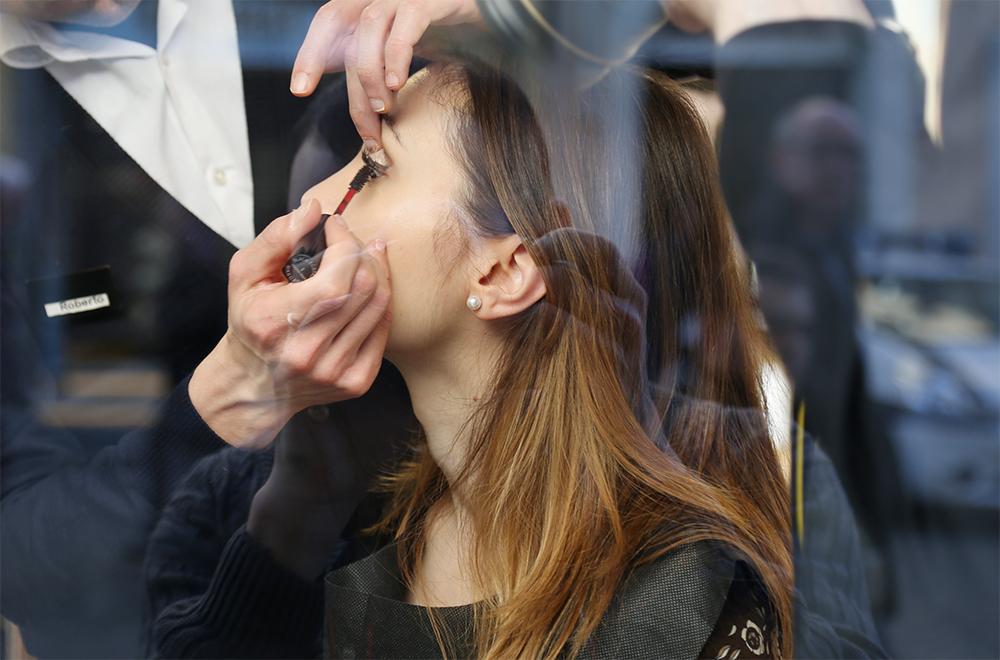 make up  Giorgio Armani