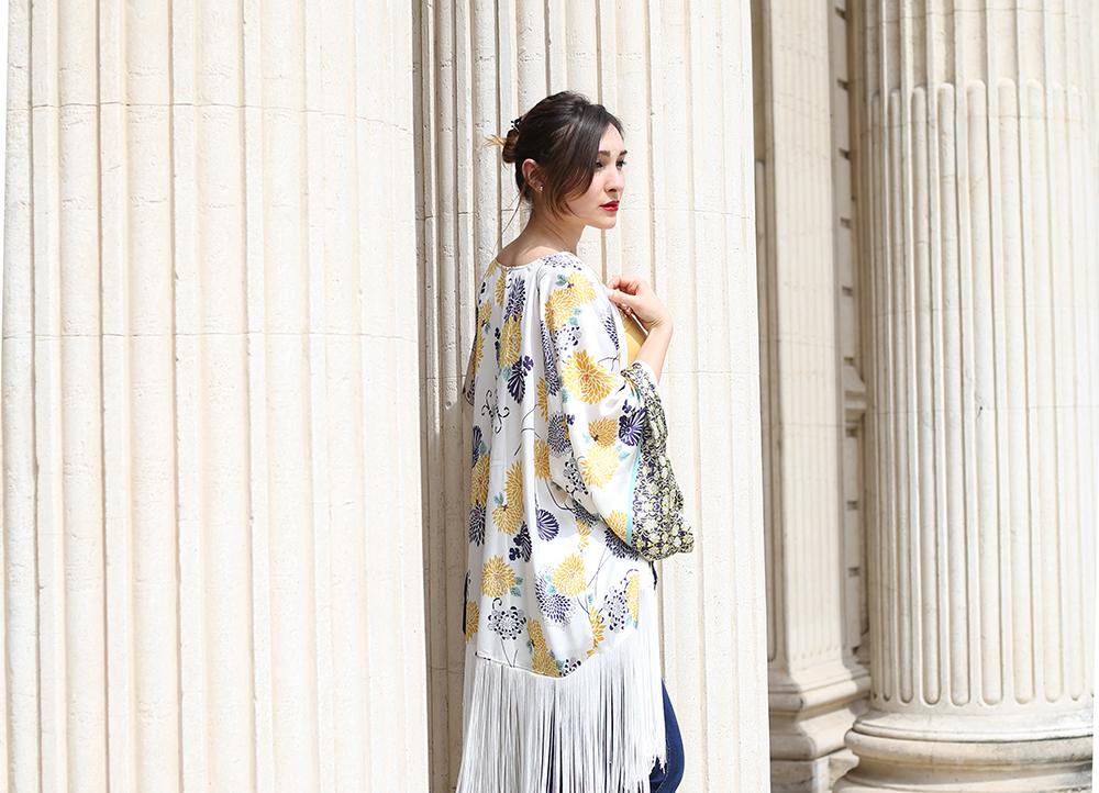 come abbinare un kimono