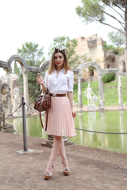 LOOK ANNI u0026#39;50 OUTFIT A VILLA ADRIANA - Veronica fashion ...