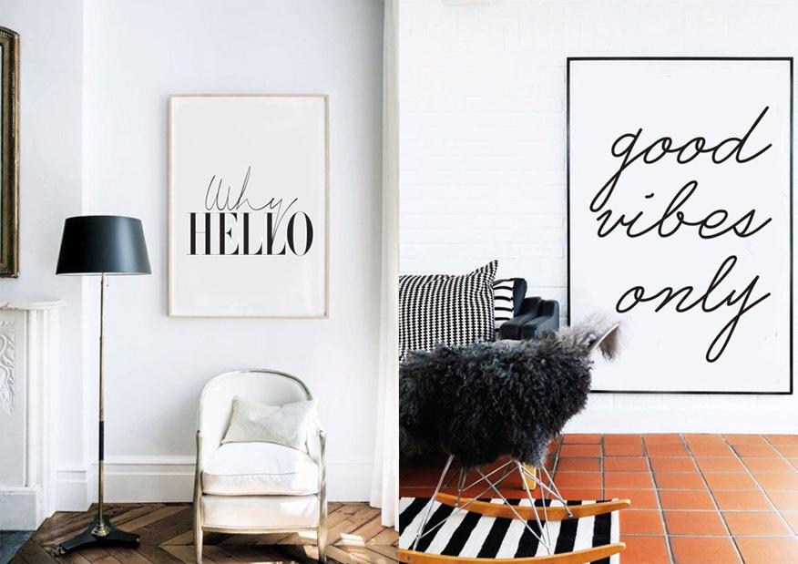 Stecil e quadretti per decorare la propria casa veronica for Decorare pareti di casa