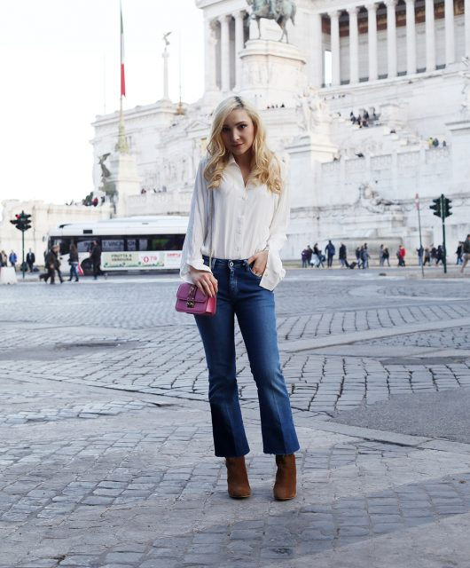jeans flare cut