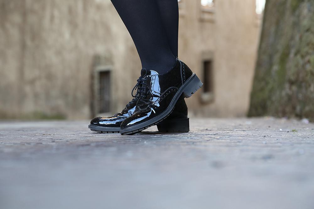 scarpe lucide