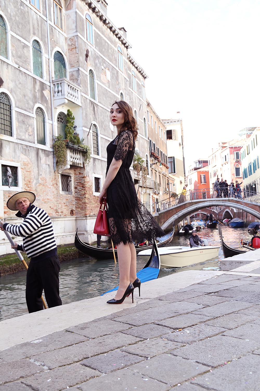outfit pizzo Venezia