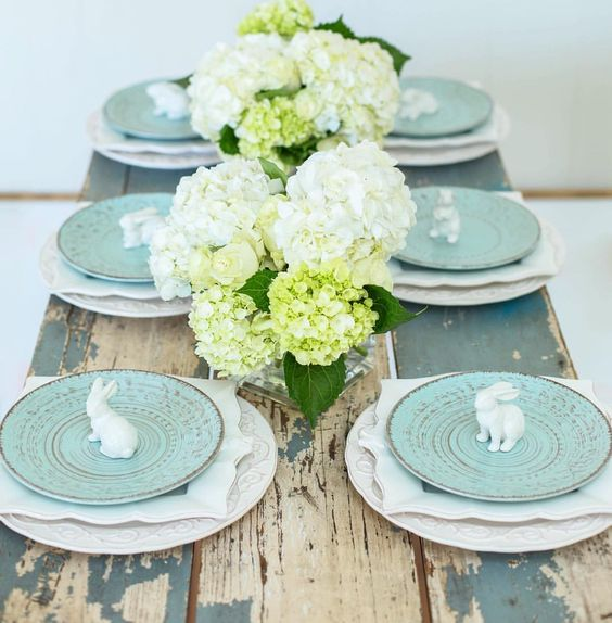 decorare la tavola per pasqua