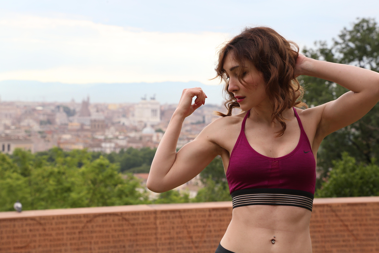 nike fitness blogger roma