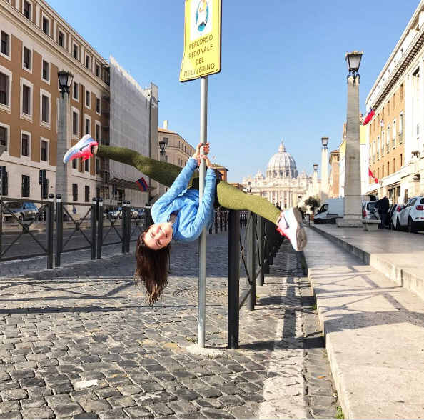 pole dance roma