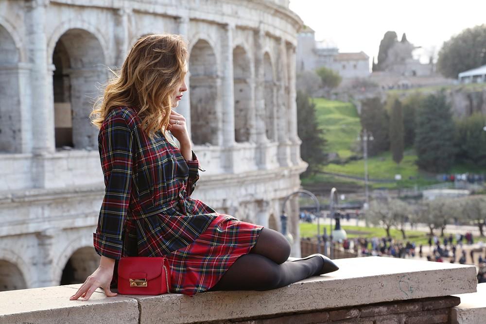 come indossare il tartan scozzese