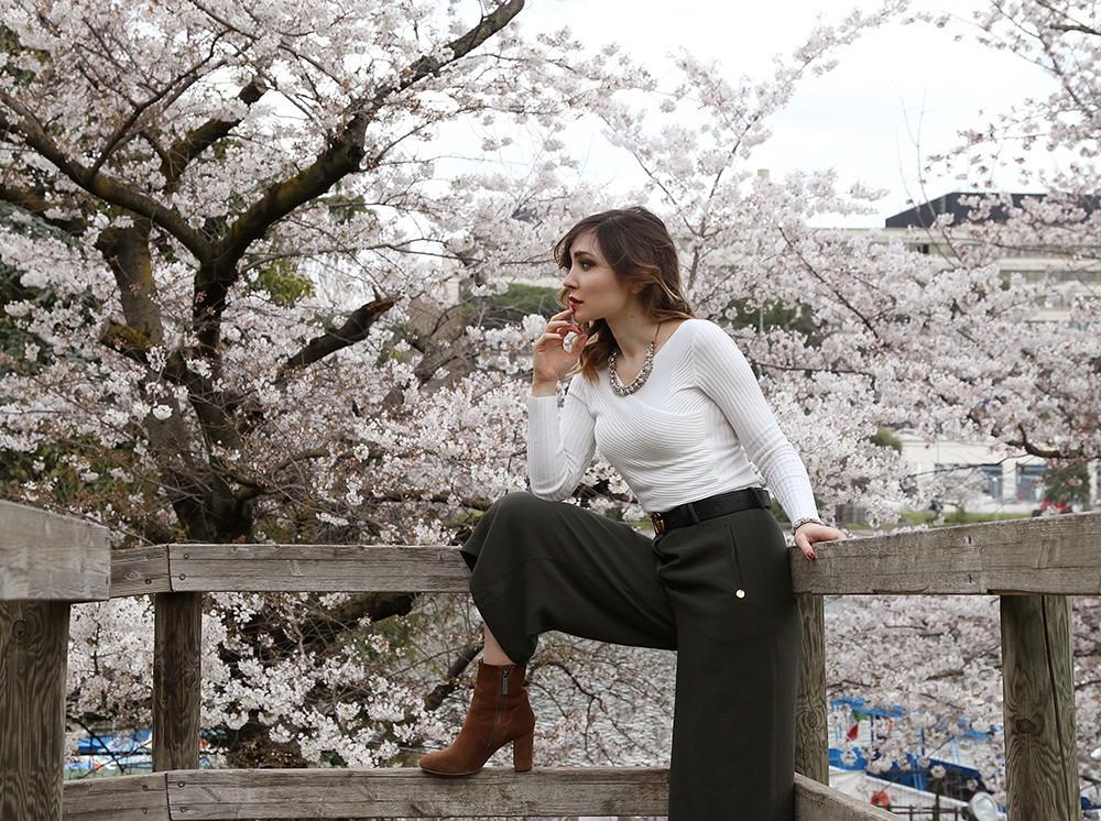 Pantaloni culotte per la primavera